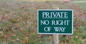 Private estates in surrey